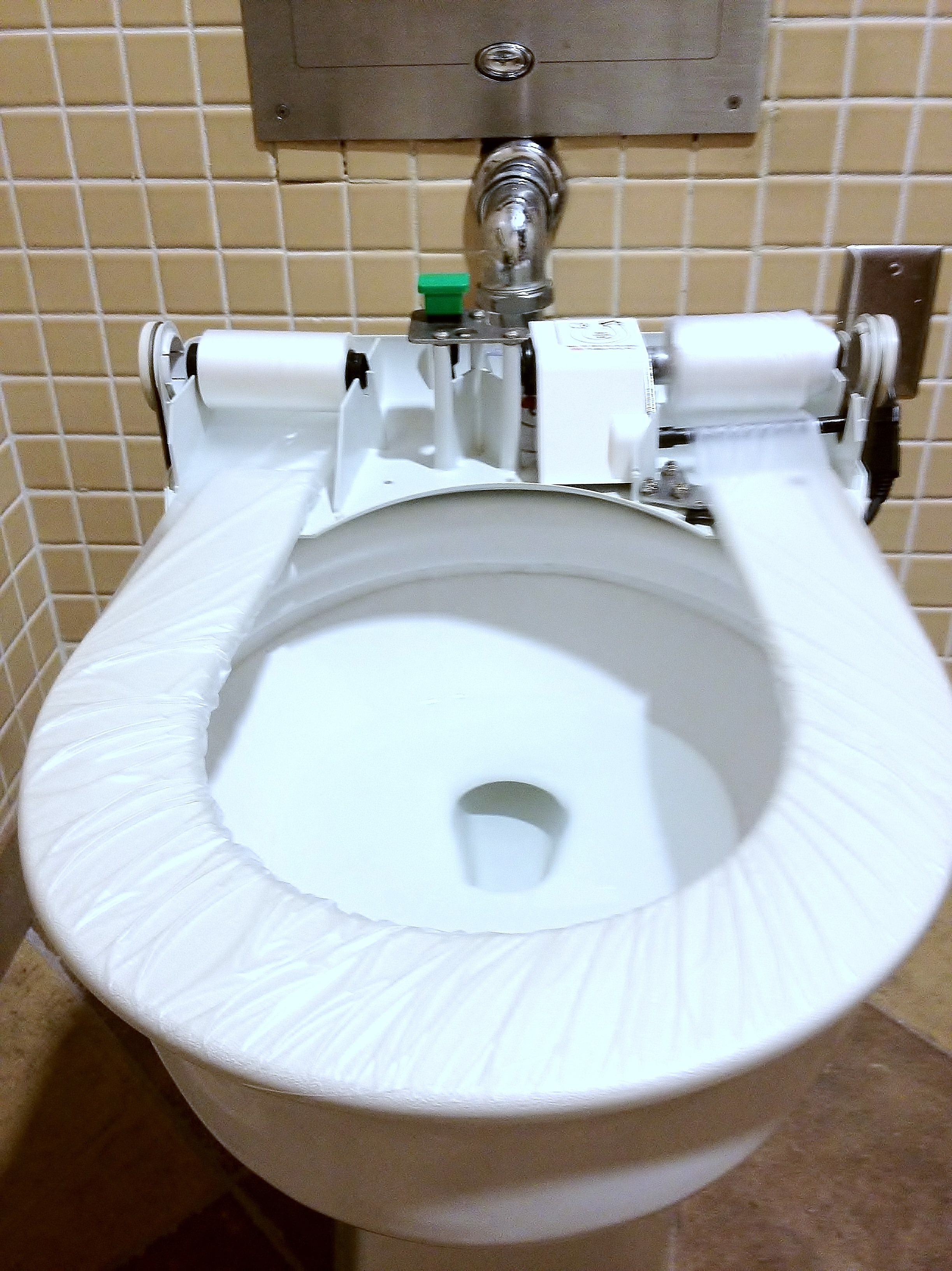 Sanitary Toilet Seat Cover – Brillseat Automatic Seat Covers