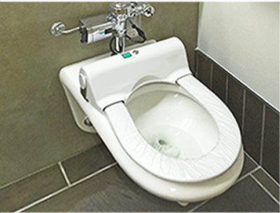 disposable toilet seat cover system